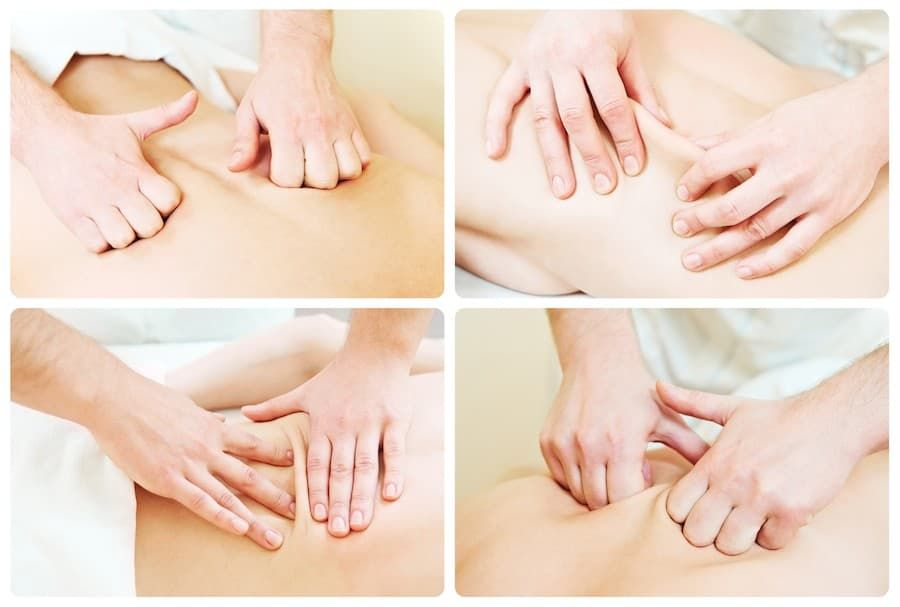 Massage technique composition